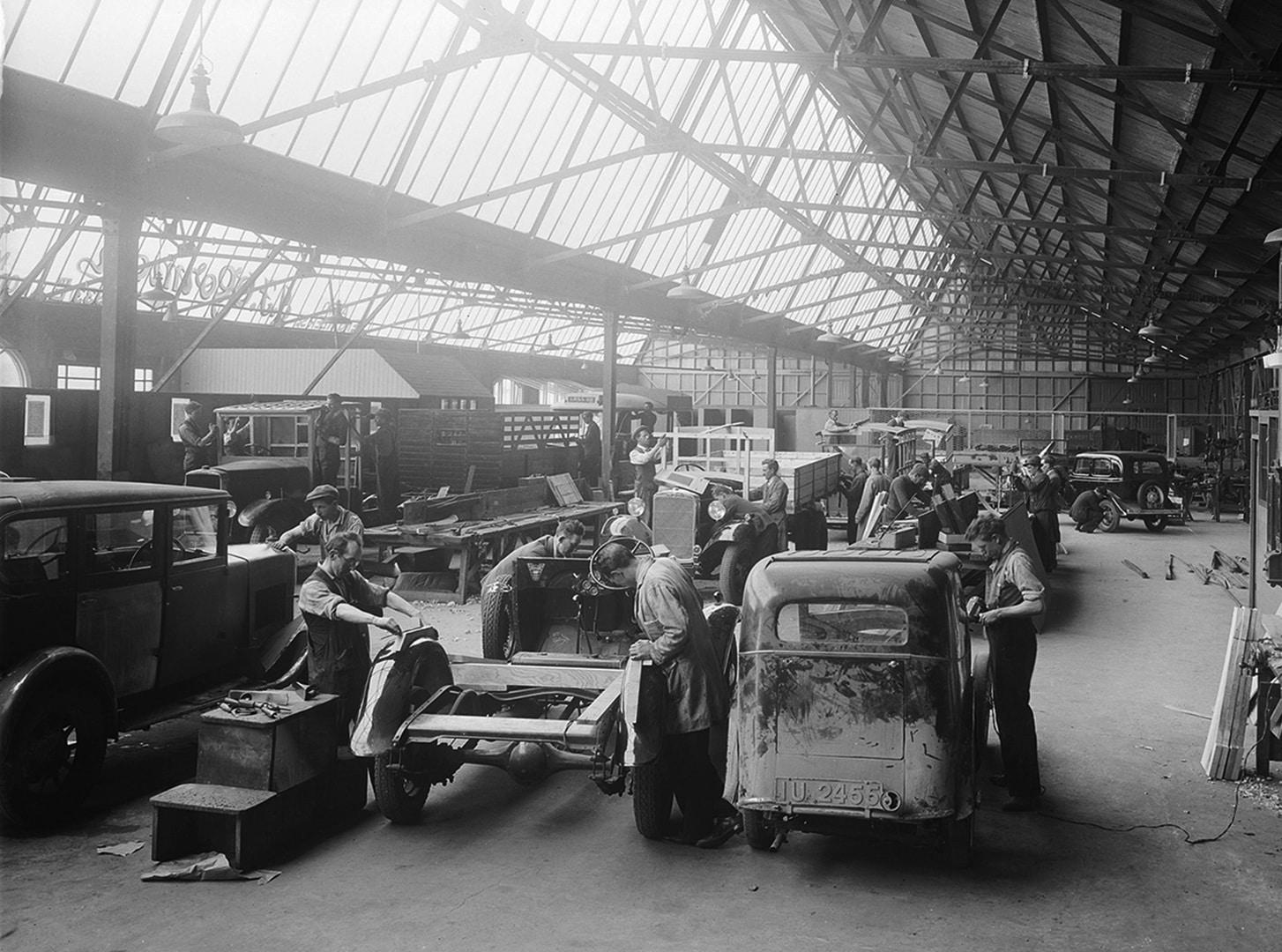 Ancienne usine industrielle