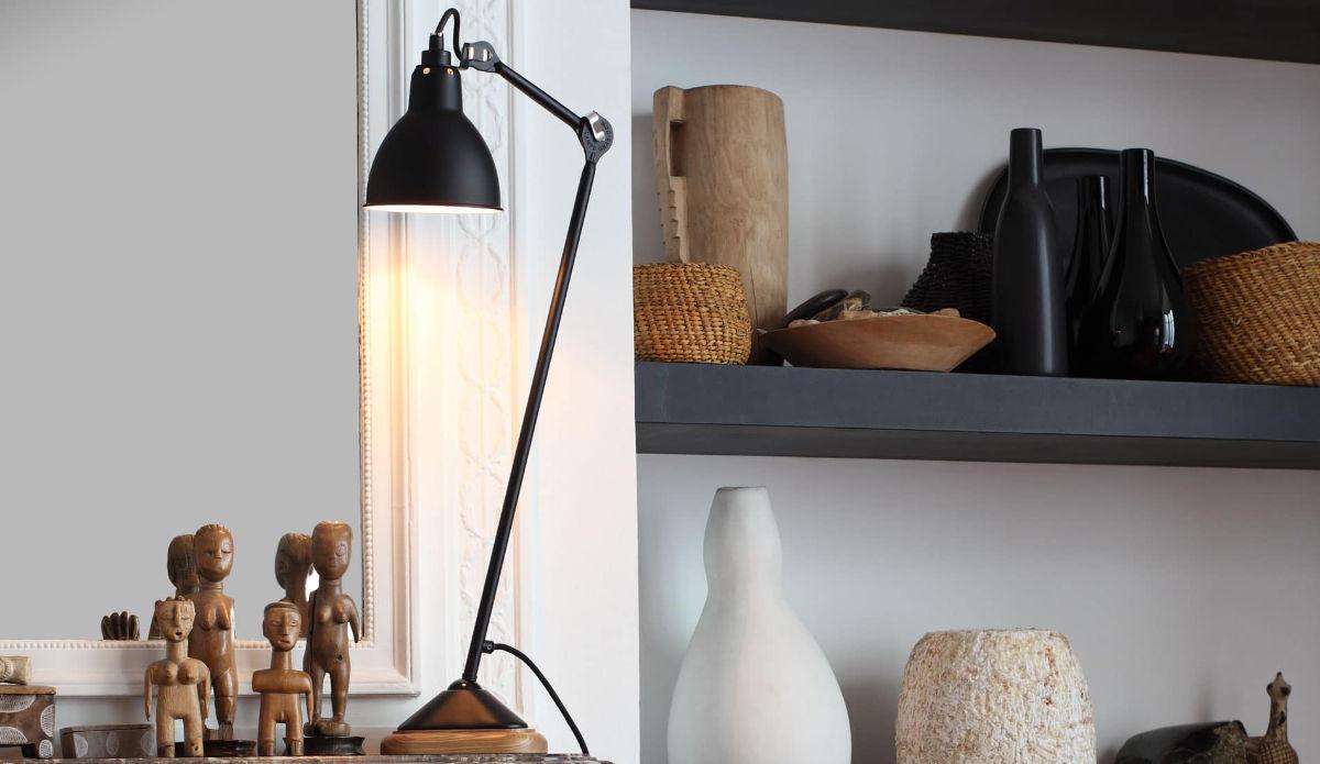 Lampe GRAS dans une maison à la décoration industrielle