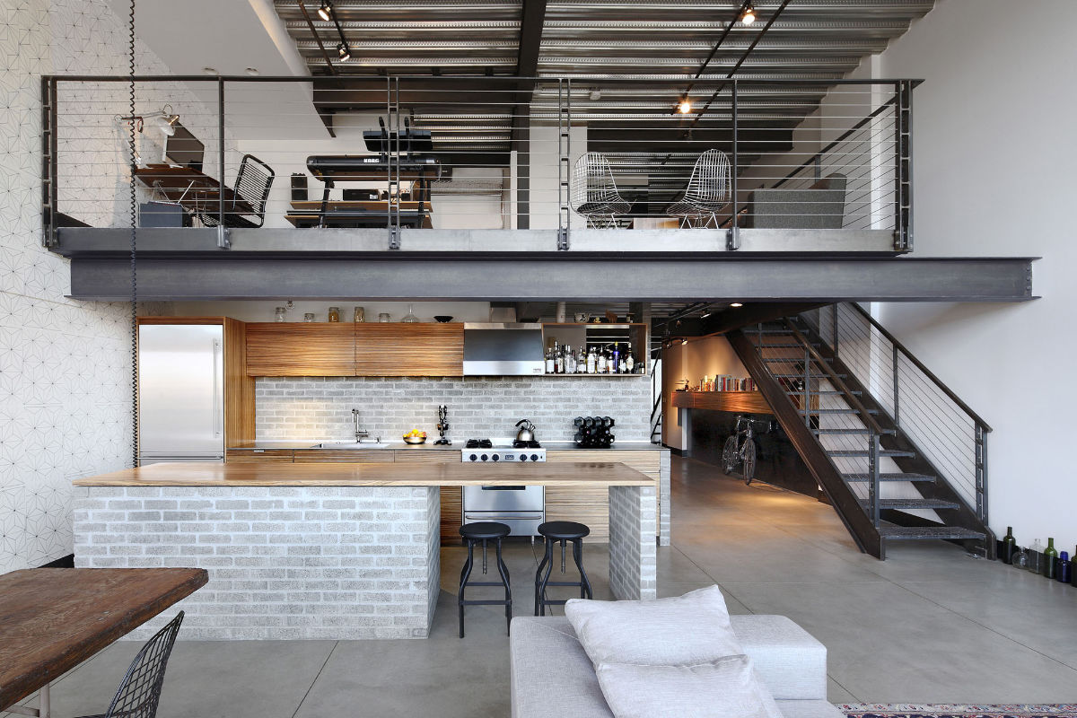 Loft au design industriel